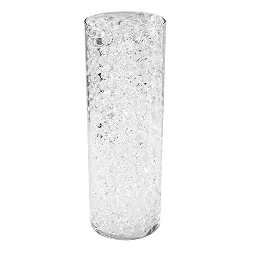 1-Pound-Bag-of-Clear-Water-Gel-Beads-Pearls-for-Vase-Filler-Candles-Wedding-Centerpiece-Home-Decoration-Plants-Toys-Education-Makes-12-Gallons-by-Super-Z-Outlet-0