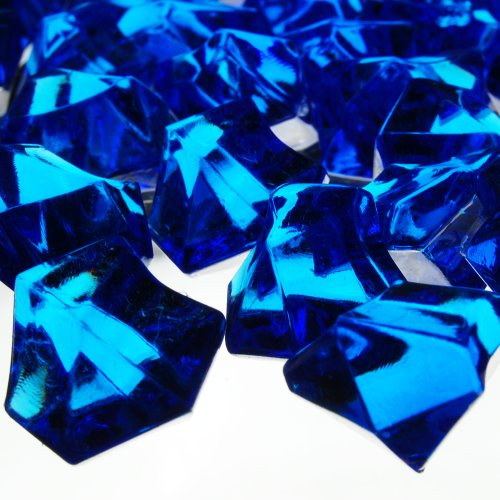 1-X-Translucent-Royal-Blue-Acrylic-Ice-Rocks-for-Vase-Fillers-or-Table-Scatters-0-0