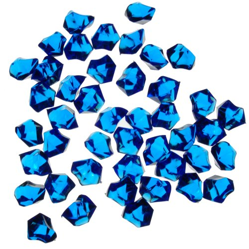 1-X-Translucent-Royal-Blue-Acrylic-Ice-Rocks-for-Vase-Fillers-or-Table-Scatters-0