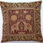 10-Pc-Lot-Square-Silk-Home-Decor-Cushion-Cover-Indian-Silk-Brocade-Pillow-Cover-Handmade-Banarsi-Pillow-Cover-16-X-16-Inch-0-1