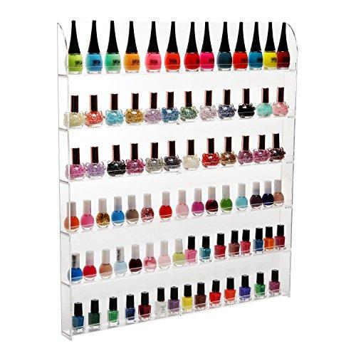 102-Bottles-6-Shelf-Pro-Acrylic-Nail-Polish-Rack-Salon-Wall-Mounted-Organizer-Display-MyGift-0