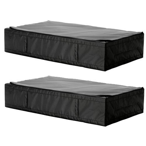2-Ikea-Skubb-Black-Underbed-Storage-Case-0