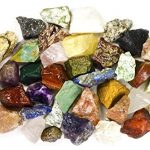 2-Pounds-BEST-VALUE-Bulk-Rough-INDIA-Stone-Mix-Over-25-Stone-Types-Large-1-Natural-Raw-Stones-Fountain-Rocks-for-Cabbing-Tumbling-Lapidary-Polishing-and-Reiki-Healing-0-0