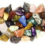 2-Pounds-BEST-VALUE-Bulk-Rough-INDIA-Stone-Mix-Over-25-Stone-Types-Large-1-Natural-Raw-Stones-Fountain-Rocks-for-Cabbing-Tumbling-Lapidary-Polishing-and-Reiki-Healing-0