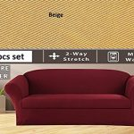 2-pcs-Stretch-Slipcovers-Set-Couch-Sofa-And-Loveseat-Cover-0