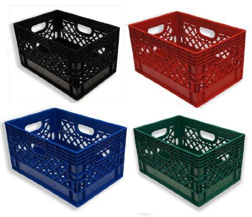 24qt-4-Pack-Black-Blue-Red-Green-Milk-Crates-0