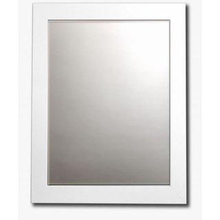 24×32-White-Framed-Bathroom-Mirror-by-Belvedere-0