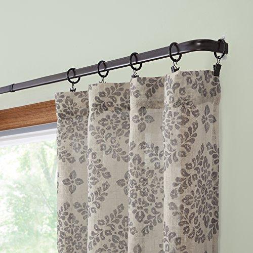 28-48-Single-Curtain-Rod-25-Projection-Espresso-0-0