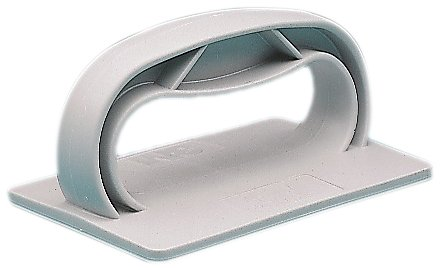 3M-Twist-Lok-961-Plastic-Pad-Holder-4-34-Length-x-3-12-Width-x-2-12-Height-Light-Gray-Pack-of-10-0