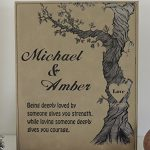 3rd-Anniversary-Tan-Leather-Personalized-Poem-and-Wedding-Date-0-0