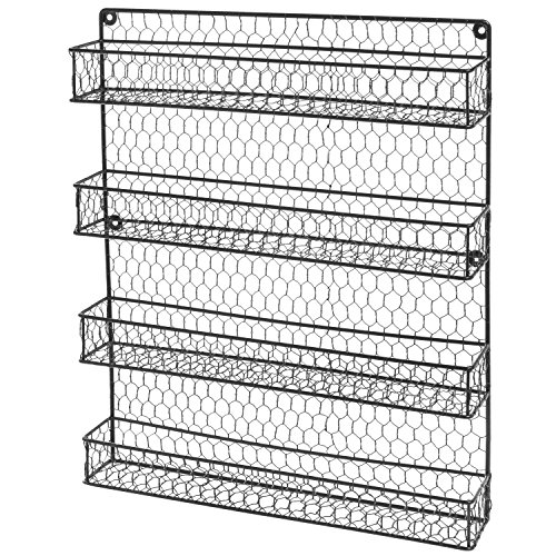 4-Tier-Country-Rustic-Chicken-Wire-Pantry-Cabinet-or-Wall-Mounted-Spice-Rack-Storage-Organizer-0-1