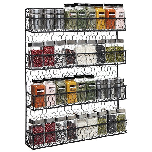 4-Tier-Country-Rustic-Chicken-Wire-Pantry-Cabinet-or-Wall-Mounted-Spice-Rack-Storage-Organizer-0