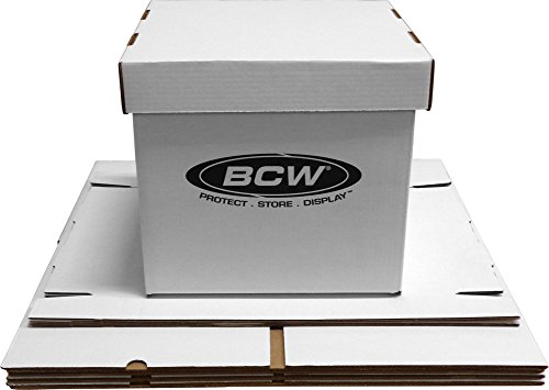 5-BCW-Brand-12-Record-Album-Storage-Box-with-Removable-Lid-Holds-Up-to-65-Vinyl-Records-12BC65WH-0