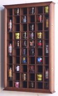 54-Shot-Glass-Shotglass-Shooter-Display-Case-Holder-Cabinet-Wall-Rack-98-UV-with-Locks-0-0