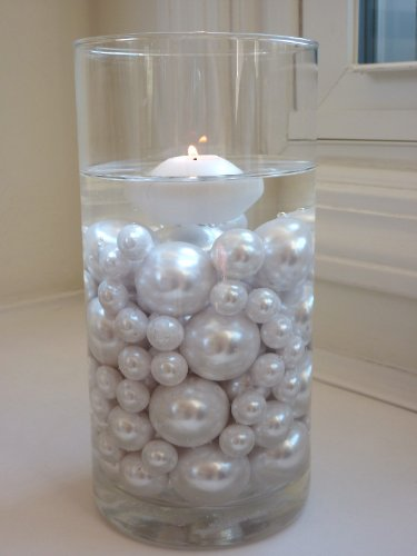 80-Jumbo-Assorted-Sizes-ALL-WHITE-PEARLS-Vase-Fillers-Value-Pack-NOT-INCLUDING-the-Transparent-Water-Gels-for-Floating-the-Pearls-Sold-Separately-0-1