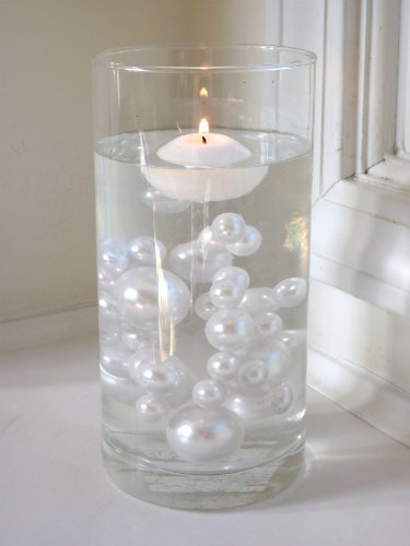 80-Jumbo-Assorted-Sizes-ALL-WHITE-PEARLS-Vase-Fillers-Value-Pack-NOT-INCLUDING-the-Transparent-Water-Gels-for-Floating-the-Pearls-Sold-Separately-0
