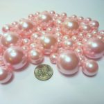 80-Jumbo-Assorted-Sizes-All-Light-Pink-PearlsBaby-Pink-Pearls-Value-Pack-Vase-Fillers-The-Transparent-Water-Gels-to-float-the-Pearls-are-sold-separately-0