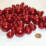 80-Jumbo-and-Assorted-Sizes-ALL-RED-PEARLS-Vase-Fillers-Value-Pack-NOT-INCLUDING-the-Transparent-Water-Gels-for-Floating-the-Pearls-Sold-Separately-0