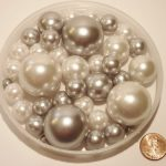 80-Silver-and-White-Pearls-Jumbo-and-Assorted-Sizes-Vase-Fillers-Value-Pack-NOT-INCLUDING-THE-TRANSPARENT-WATER-GELS-FOR-FLOATING-THE-PEARLS-SOLD-SEPARATELY-0-0