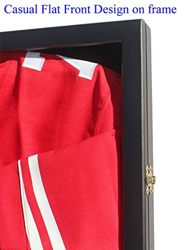 98-UV-Protection-Baseball-Football-Basketball-Soccer-Hockey-Jersey-Display-Case-Shadowbox-Wall-Mount-JC34-BL-0-0