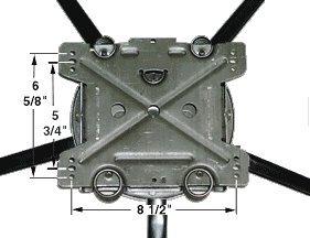 ADJUSTABLE-Spring-5-High-Leggett-Platt-Heavy-Duty-Swivel-Rocker-3540-with-3-springs-0-0
