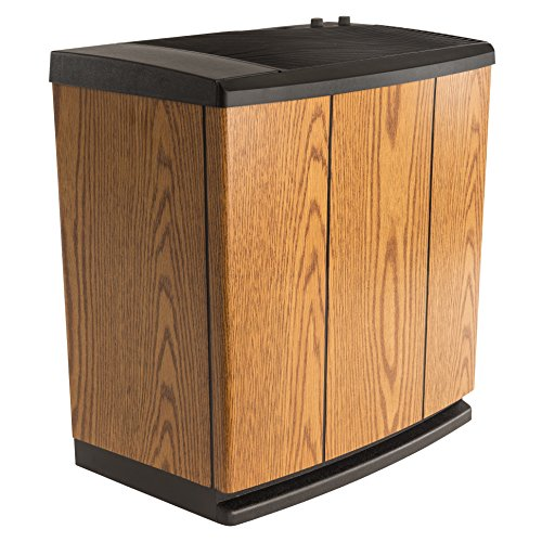 AIRCARE-H12-300HB-4-Speed-Whole-House-Console-Style-Evaporative-Humidifier-Light-Oak-Black-Trim-0-0