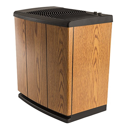 AIRCARE-H12-300HB-4-Speed-Whole-House-Console-Style-Evaporative-Humidifier-Light-Oak-Black-Trim-0-1