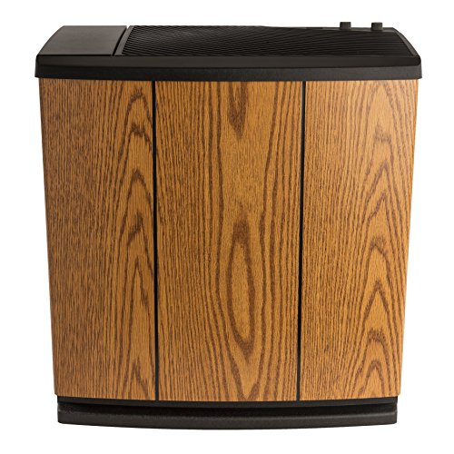 AIRCARE-H12-300HB-4-Speed-Whole-House-Console-Style-Evaporative-Humidifier-Light-Oak-Black-Trim-0