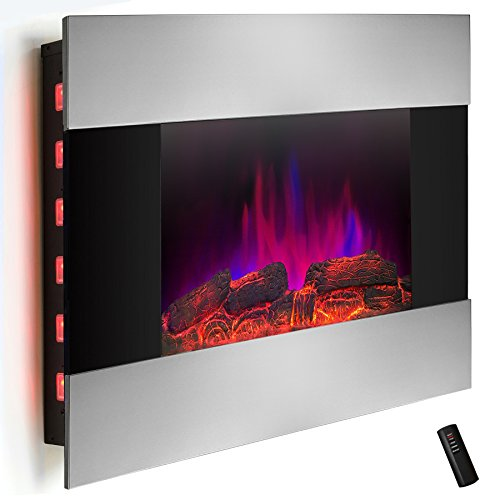 AKDY-36-inch-Wall-Mount-Modern-Space-Heater-Electric-Fireplace-Tempered-Glass-WRemote-Control-AX-510DLB-0-1