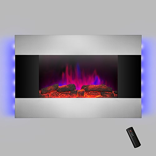 AKDY-36-inch-Wall-Mount-Modern-Space-Heater-Electric-Fireplace-Tempered-Glass-WRemote-Control-AX-510DLB-0