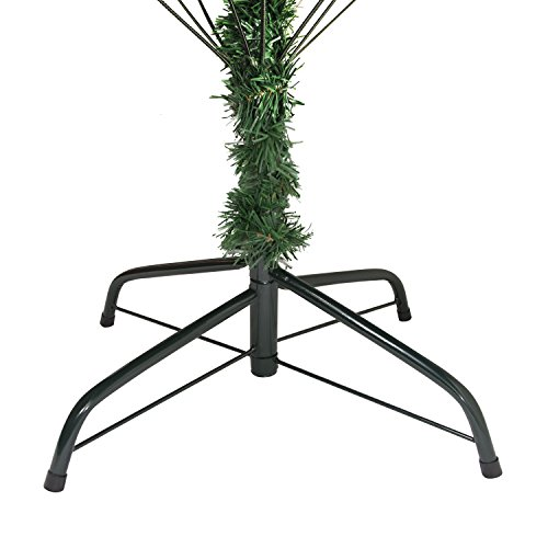 ALEKO-CTPC71H17-Luscious-6-Feet-Christmas-Tree-With-White-Tips-and-Decorative-Pine-Cones-Artificial-Holiday-Pine-Tree-Indoor-Holiday-Decor-0-0