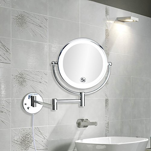 ALHAKIN-Wall-Mount-Makeup-Mirror-Bathroom-Mirror-with-5x-0-1