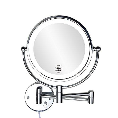 ALHAKIN-Wall-Mount-Makeup-Mirror-Bathroom-Mirror-with-5x-0