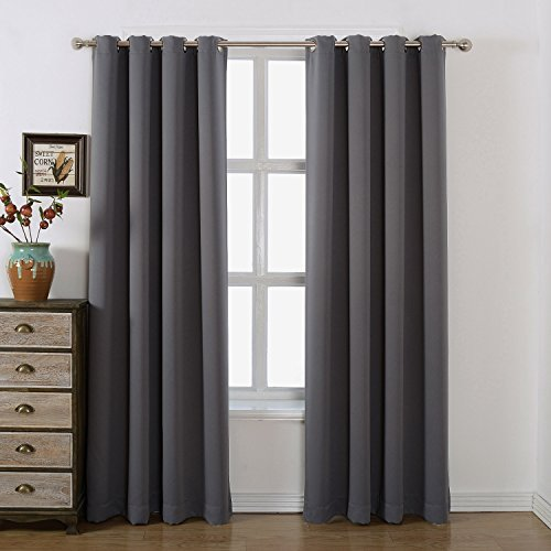 AMAZLINEN-Sleep-Well-Blackout-Curtains-Toxic-Free-Energy-Smart-Thermal-Insulated-Grommet-TopSet-Of-2-Panels-With-Bonus-Tie-Back-0