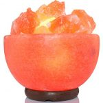 AMSkart-Pink-Crystal-Himalayan-Salt-Fire-Bowl-Lamp-with-Dimmer-Switch-and-Wooden-Base-7-x-65-x-65-Inch-8-10-lbs-0