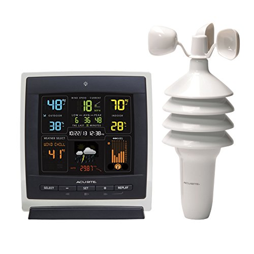 AcuRite-00622-Pro-Color-Weather-Station-with-Wind-Speed-Temperature-and-Humidity-0