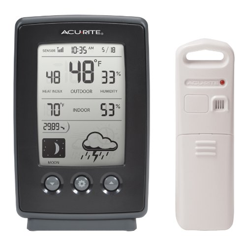 AcuRite-00829-Digital-Weather-Station-with-ForecastTemperatureClockMoon-Phase-0