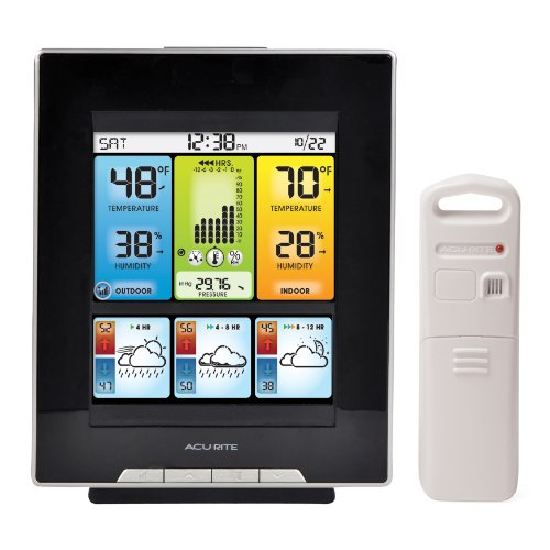 AcuRite-02007-Digital-Weather-Center-with-Morning-Noon-and-Night-Precision-Forecast-Thermometer-0