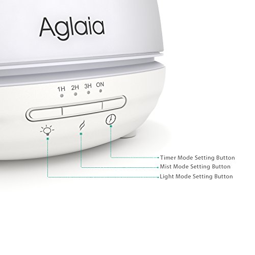 Aglaia-300ml-Essential-Oil-Diffuser-Glass-Cover-Ultrasonic-Humidifier-with-7-Color-LED-Lights-Changing-Time-Setting-and-Waterless-Auto-Shut-off-0-0