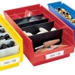 Akro-Mils-30120-12-Inch-by-4-Inch-by-4-Inch-Clear-Plastic-Nesting-Shelf-Bin-Box-24-Pack-0-0