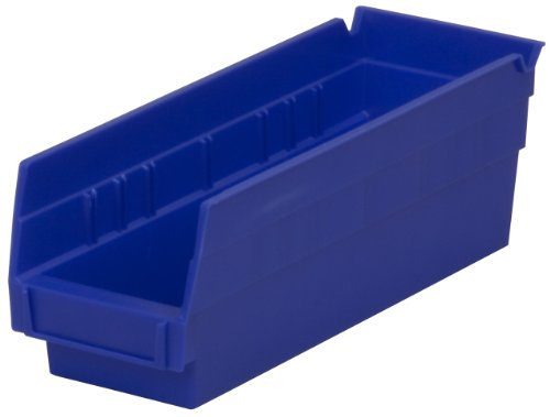 Akro-Mils-30120-12-Inch-by-4-Inch-by-4-Inch-Clear-Plastic-Nesting-Shelf-Bin-Box-24-Pack-0