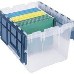 Akro-Mils-66486-FILEB-12-Gallon-Plastic-Storage-Hanging-File-Box-with-Attached-Lid-21-12-Inch-by-15-Inch-by-12-12-Inch-Semi-Clear-Pack-of-1-0-0