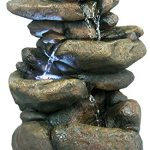 Alpine-WIN472-3-Tier-Rock-Fountain-with-LED-Light-0