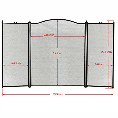 Amagabeli-3-Panel-Wrought-Iron-Fireplace-Screen-Baby-Safe-Proof-Outdoor-Large-Metal-Decorative-Fire-Place-Screen-Mesh-Fireplace-Safety-Gate-Fence-Curtain-Doors-Black-Cover-by-Grate-Holders-Accessories-0-1