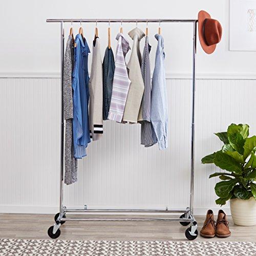 AmazonBasics-Garment-Rack-Chrome-0-0