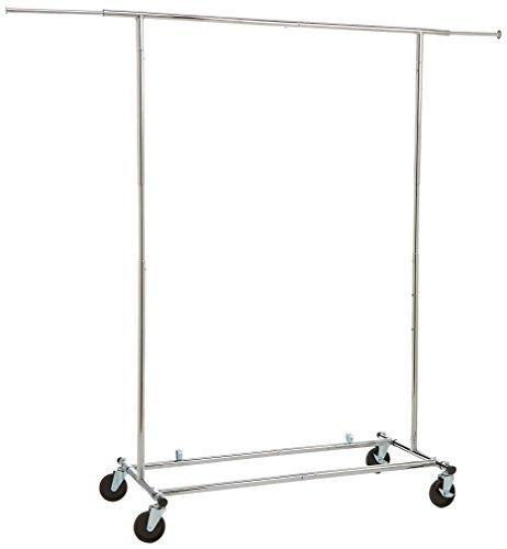 AmazonBasics-Garment-Rack-Chrome-0