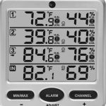 Ambient-Weather-WS-10-X4-Wireless-IndoorOutdoor-8-Channel-Thermo-Hygrometer-with-Four-Remote-Sensors-0-0