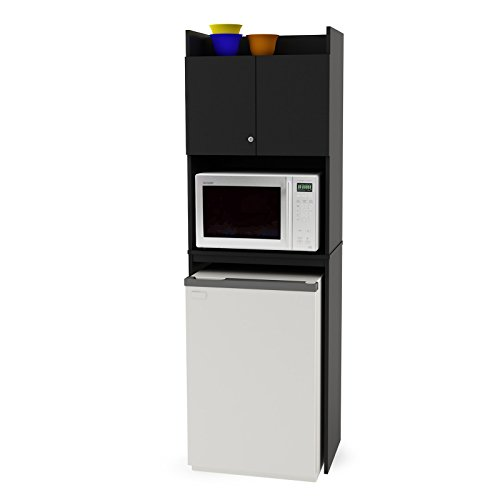 Ameriwood-Over-the-Refrigerator-Storage-Cabinet-Black-0-1