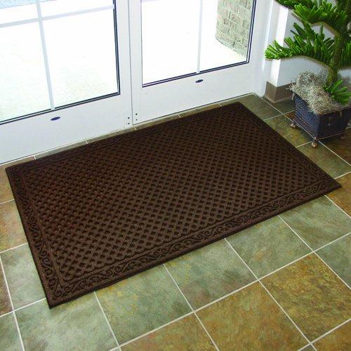 Apache-Mills-60-883-1403-Textures-Iron-Lattice-Entrance-Mat-3-Feet-by-5-Feet-Walnut-0-0