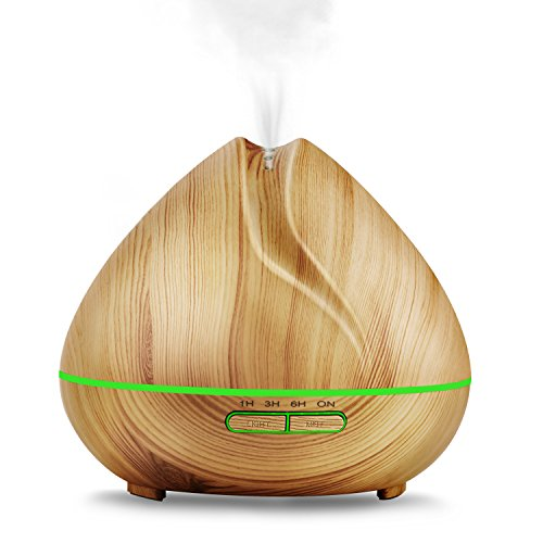 Aroma-Essential-Oil-Diffuser400ml-Ultrasonic-Cool-Mist-Humidifier-for-Large-Room-Wood-Grain-0